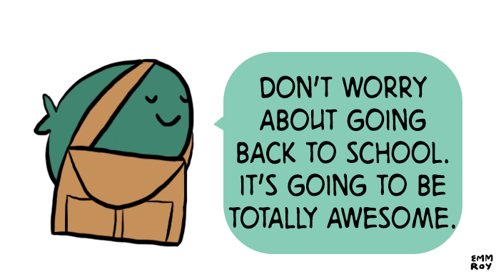 It's Your New School Year too!
