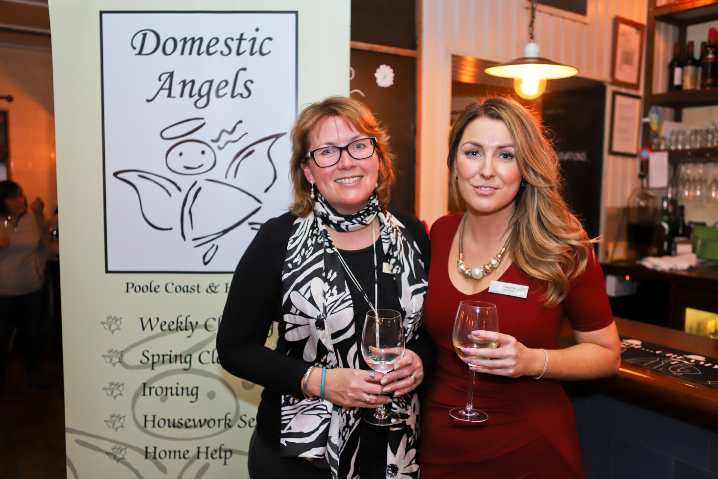 Domestic Angels launch Poole Coast & Harbour branch