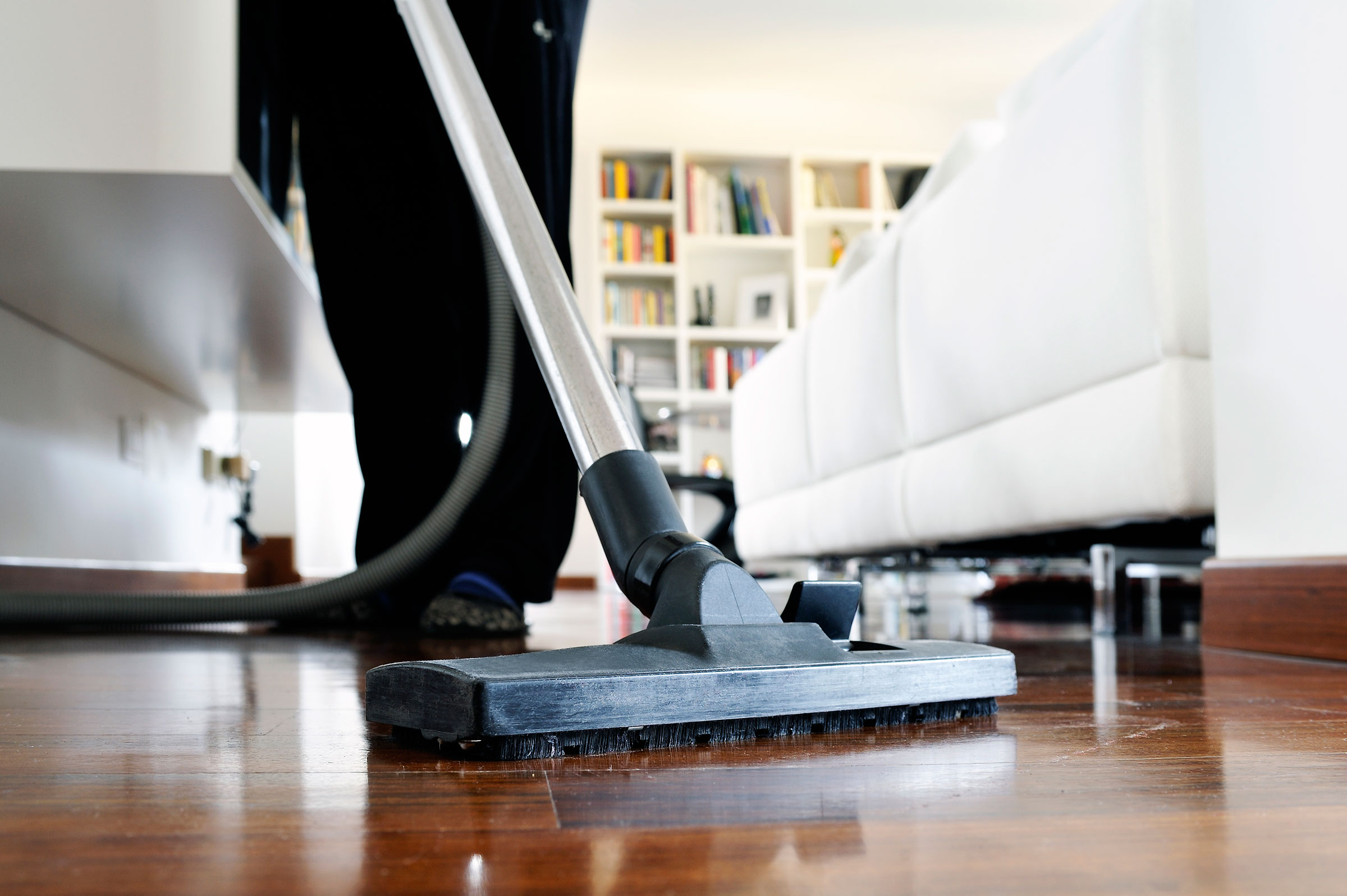 One in four people now employs a cleaner