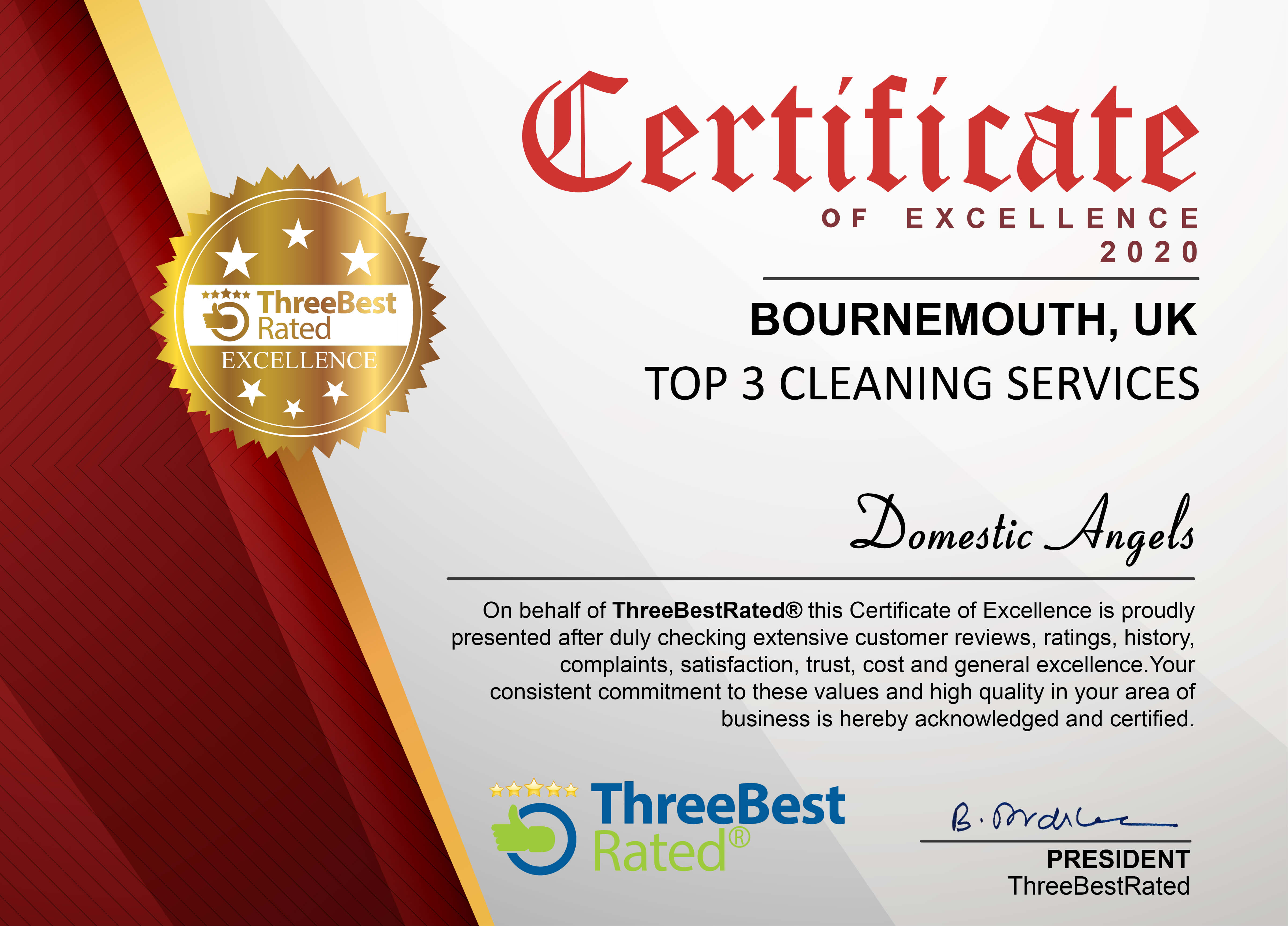 Three Best Rated Cleaning Services 2020